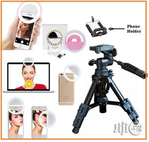 Selfie Ring Light With Mini Portable Tripod Camera / Video Stand   Accessories & Supplies for Electronics for sale in Lagos State, Ikeja