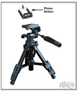 Mini Portable Stand Tripod With Phone Holder for Carmera / Video Rec.   Accessories & Supplies for Electronics for sale in Lagos State, Ikeja