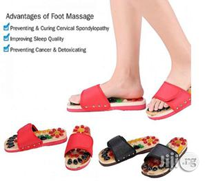 Massage Slippers Health Care Blood Activating Foot Relaxation Massager Shoes | Massagers for sale in Lagos State, Mushin