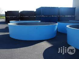 Tanks (Fish, Chemicals And Water Tanks) Fibre Reinforced Plastics | Farm Machinery & Equipment for sale in Lagos State, Ikorodu