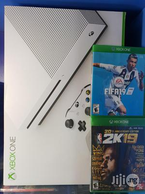 Xbox One S + Fifa 19 And Nba 19 | Video Game Consoles for sale in Lagos State, Ikeja