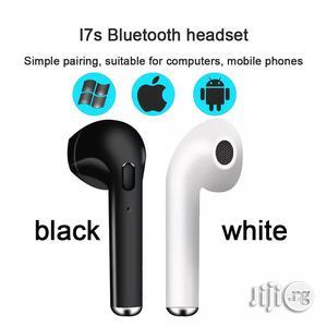 Wireless Bluetooth Earphones I7s Earbuds Headset With Mic   Headphones for sale in Ogun State, Ado-Odo/Ota