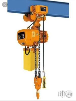 5tons Electric Chain Hoist | Manufacturing Equipment for sale in Lagos State, Ojo