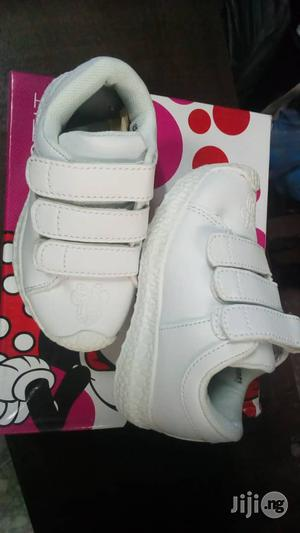 White Mickey Mouse Canvas Sneakers   Children's Shoes for sale in Lagos State, Lagos Island (Eko)