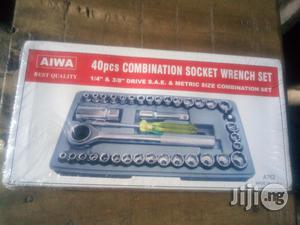 """Set Of 40pcs Combination Wrench 1/4"""" & 3/8"""" Drive   Hand Tools for sale in Lagos State, Ikeja"""