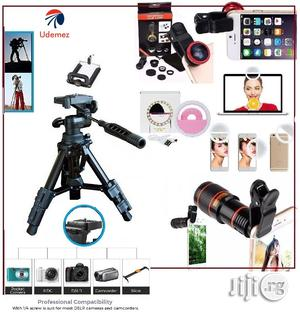 3 In 1 Ring Light, Camera Selfie Light, Mobile Telescope With Portable Tripod Stand | Accessories & Supplies for Electronics for sale in Lagos State, Ikeja