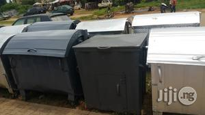 AEPB Specified 1,100L Metal Waste Bin. Free Delivery And Waste Bags Within Abuja | Garden for sale in Abuja (FCT) State, Maitama