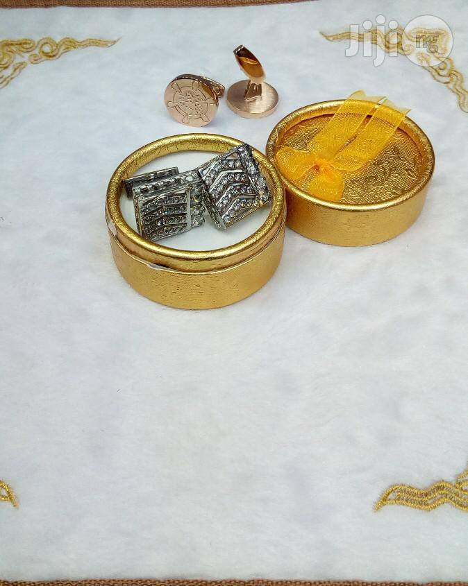 Designers Cufflinks Buttons | Clothing Accessories for sale in Surulere, Lagos State, Nigeria