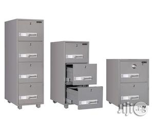 Brand New Four Drawer Imported Fireproof Cabinet   Furniture for sale in Rivers State, Port-Harcourt
