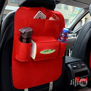Red Car-styling Cover Auto Car Back Seat Organizer   Vehicle Parts & Accessories for sale in Lagos State, Ikeja