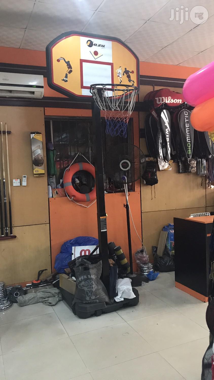 New Basketball Stand