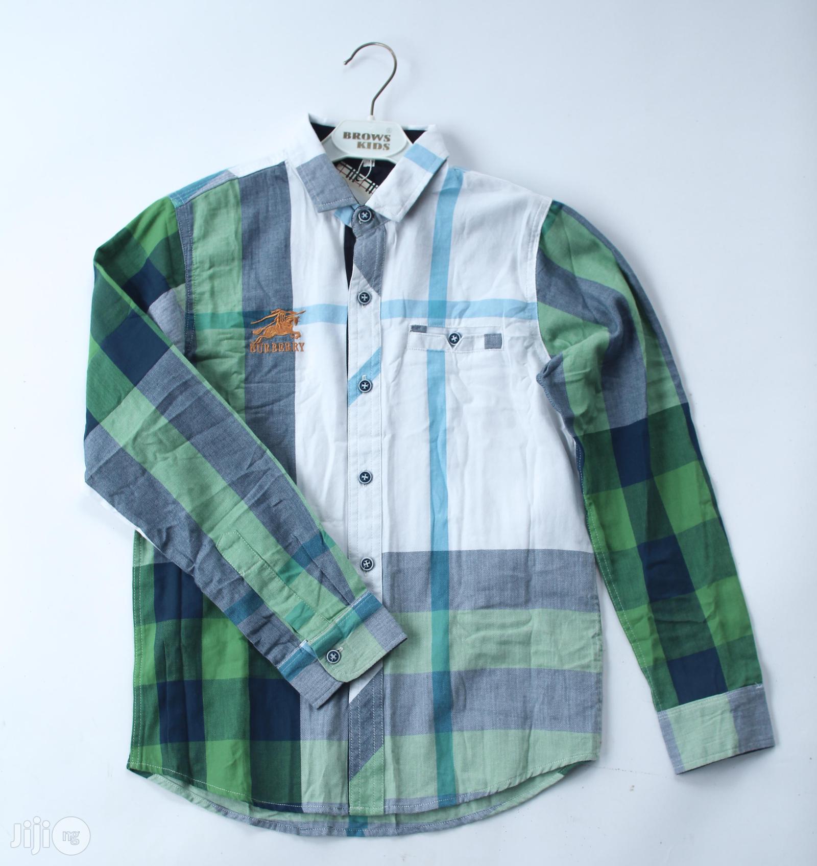Burberry Boys Shirt.