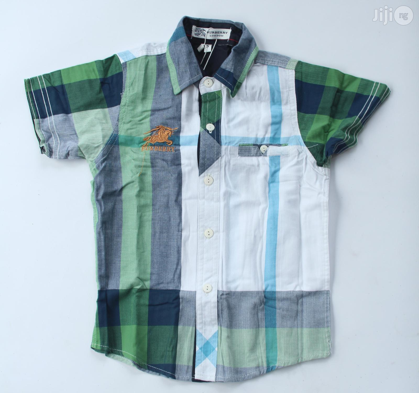 Burberry Boys Shirt. | Children's Clothing for sale in Alimosho, Lagos State, Nigeria