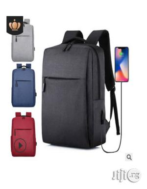 Invisible Zipper With USB Charging Backpack   Bags for sale in Lagos State, Surulere