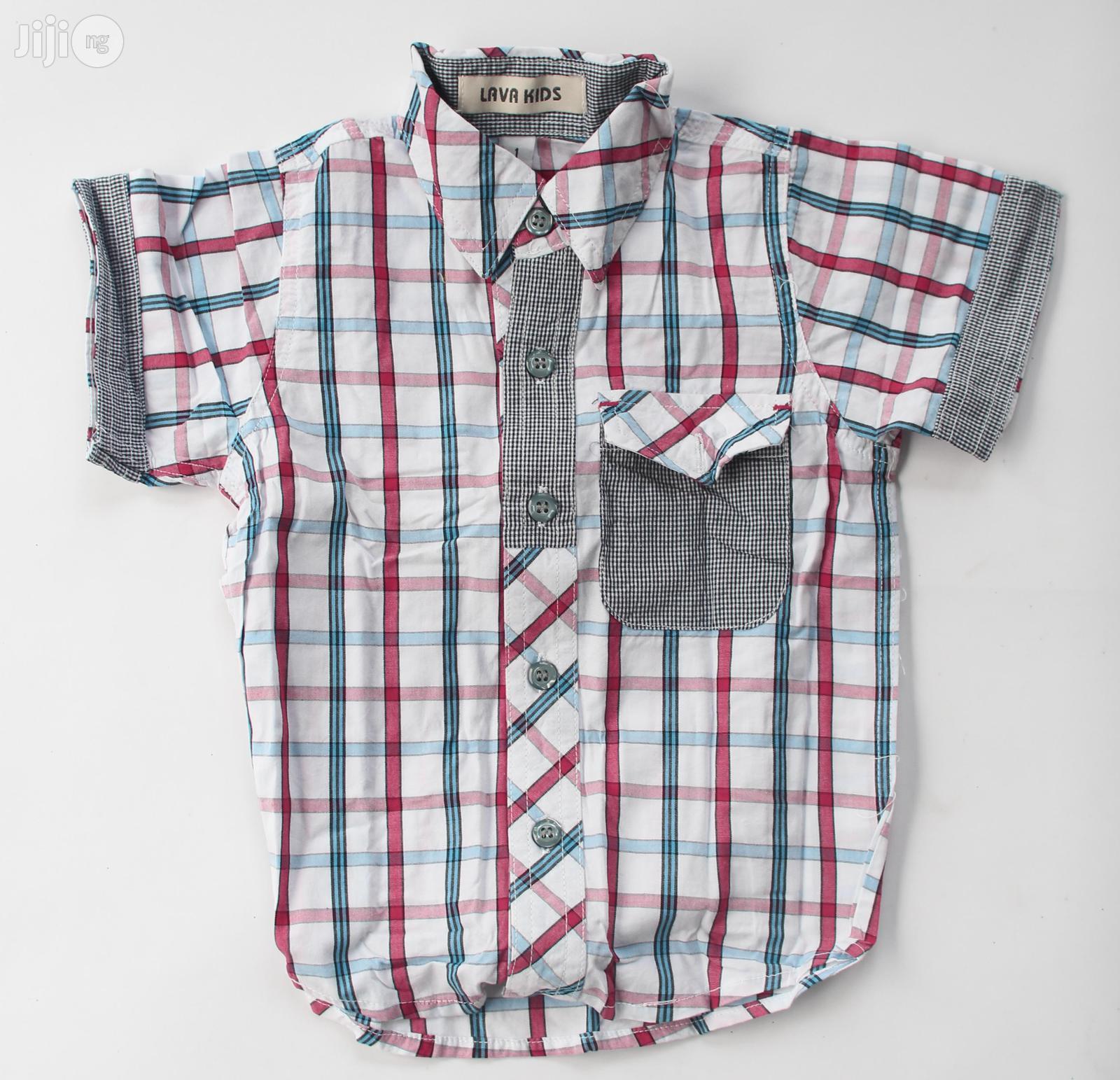 Mango Boys Shirt.