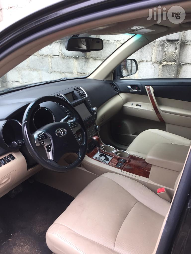 Toyota Highlander 2013 Limited 3.5l 4WD Black | Cars for sale in Port-Harcourt, Rivers State, Nigeria