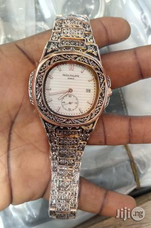 Patek Philippe Rose Gold Wristwatch.   Watches for sale in Lagos State, Surulere