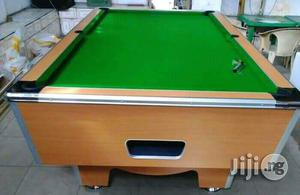 Marble With Coins Operated 8ft by 4 Snooker Board | Sports Equipment for sale in Lagos State, Ikeja