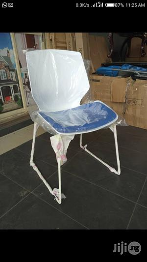 Blue and White Training Chair. Stackable   Furniture for sale in Lagos State, Lekki