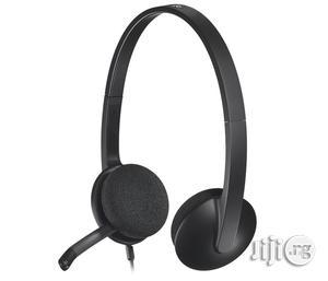 Logitech H340 Usb Computer Headset | Headphones for sale in Lagos State, Shomolu