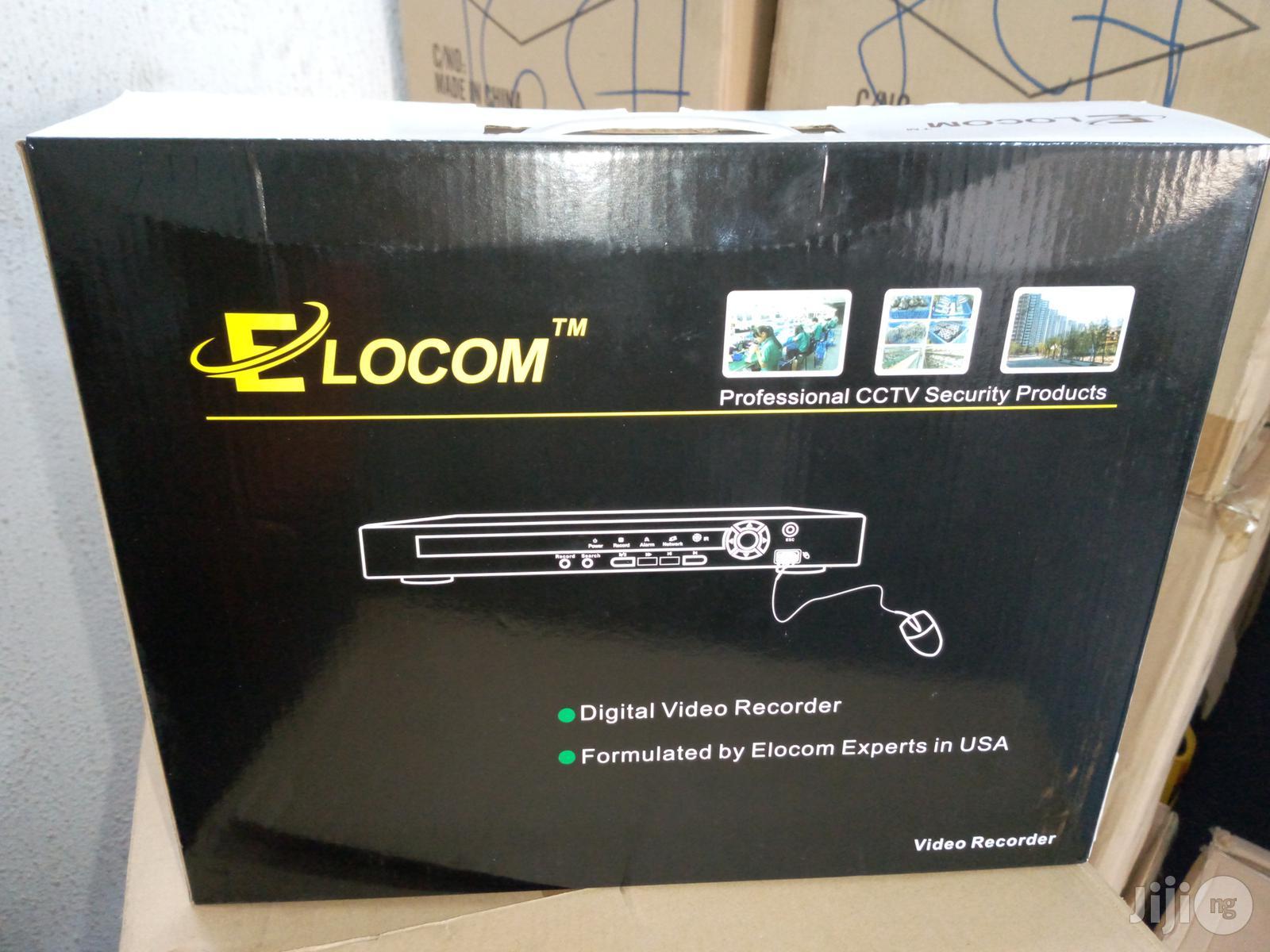 Elocom 16 Channels HD H.264- NVR/DVR CCTV Digital Video Recorder PAL System   Security & Surveillance for sale in Ikeja, Lagos State, Nigeria