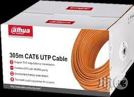 Dahua UTP CAT6 Cable 305m PFM920I-6UN-C   Computer Accessories  for sale in Lagos State, Ikeja