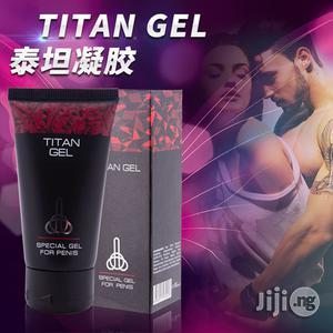 Penis Enlargement And Delay Gel - Titan Gel   Sexual Wellness for sale in Lagos State, Surulere