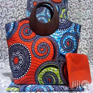 Exclusive Ankara Bags With 6yards Wax and Purse Imported Ix   Bags for sale in Delta State, Warri