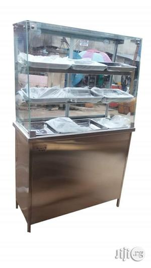 Stainless Electric 3 Plates With 2tops Snacks Warmer   Restaurant & Catering Equipment for sale in Lagos State, Surulere