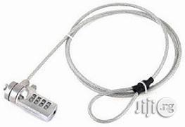 Security Cable Lock With Numbers Slot For Notebook/Laptop   Computer Accessories  for sale in Lagos State, Ikeja