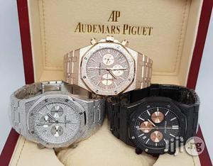 Audemars Piguet Chronograph Silver Chain Watch   Watches for sale in Lagos State, Lagos Island (Eko)