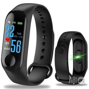 M3 Health Monitoring Fitness Band Available For Sale | Watches for sale in Lagos State, Ikeja
