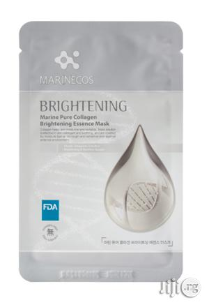 Maricos Marine Pure Collagen Brightening Esccence Mask (25G X 10 Qty) | Skin Care for sale in Lagos State, Ojo