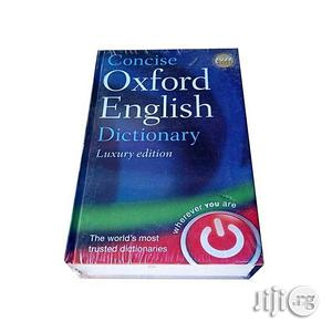 Concise Oxford English Dictionary Luxury Edition | Books & Games for sale in Lagos State, Oshodi