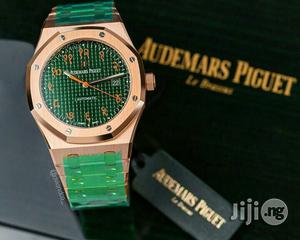 Audemars Piguet Rose Gold Green Face Chain Watch | Watches for sale in Lagos State, Lagos Island (Eko)