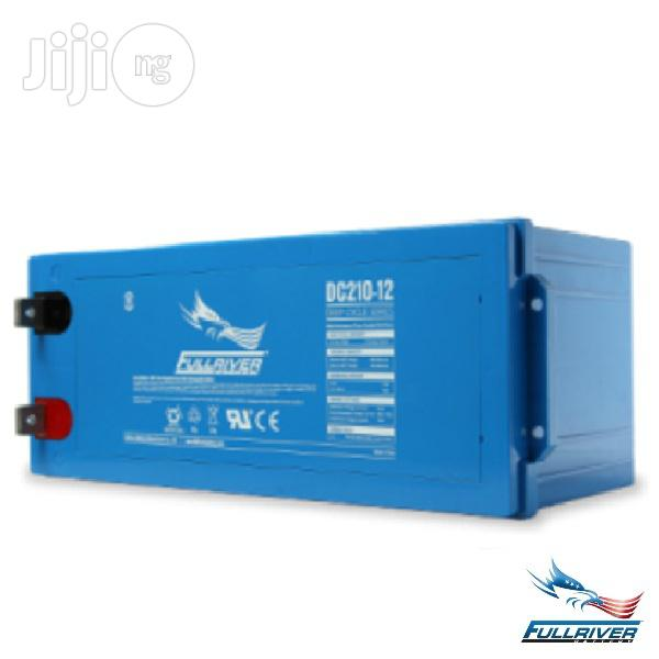 Fullriver 12V 200ah Deep Cycle Battery   Solar Energy for sale in Ikeja, Lagos State, Nigeria