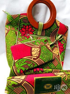 Affordable Ankara Bags With 6yards Wax & Purse | Bags for sale in Kogi State, Lokoja