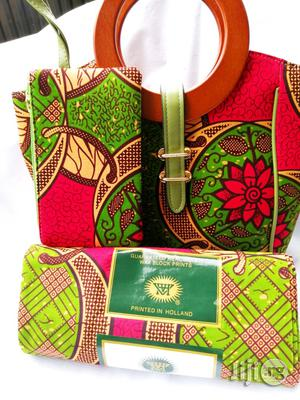 Affordable Ankara Bags With 6yards Wax & Purse All Imported | Bags for sale in Kwara State, Ilorin South