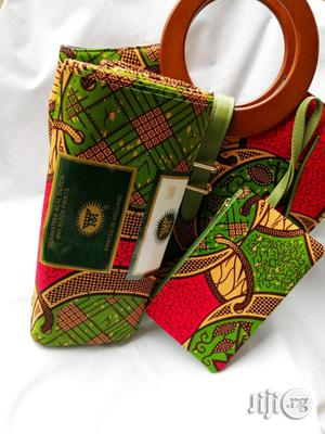 Affordable Ankara Bags With 6yards Wax Purse All Imported Xviii | Bags for sale in Lagos State, Ikeja