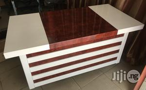 White Executive Office Table 1.4m | Furniture for sale in Lagos State