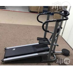 Manual Treadmill With Stepper and Twister   Sports Equipment for sale in Lagos State