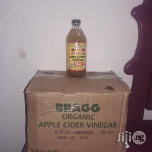 Bragg's Raw Unfiltered Apple Cider Vinegar - 473ml - 12 | Meals & Drinks for sale in Lagos State, Ikotun/Igando
