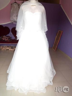 New White Wedding Gown | Wedding Wear & Accessories for sale in Lagos State, Alimosho