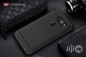 USA LG G8 Thinq Case, Vinve [Slim Thin] Carbon Fiber TPU Shock | Accessories for Mobile Phones & Tablets for sale in Lagos State, Alimosho