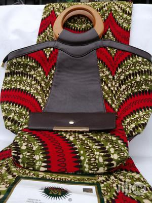 Italian Made Ankara Bags With 6yards Wax And Purse Iii | Bags for sale in Ebonyi State, Abakaliki