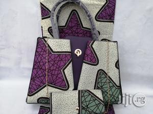 Italian Made Ankara Bags With 6yards Wax and Purse Xv | Bags for sale in Ekiti State, Ado Ekiti