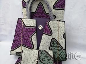 Italian Made Ankara Bags With 6yards Wax and Purse Xvi | Bags for sale in Ekiti State, Ado Ekiti
