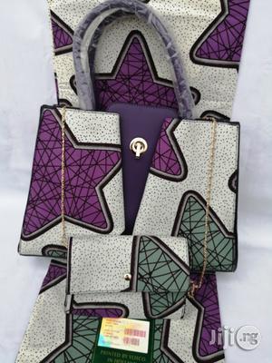 Italian Made Ankara Bags With 6yards Wax And Purse Xix | Bags for sale in Enugu State, Enugu