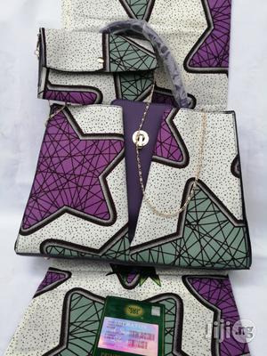 Italian Made Ankara Bags With 6yards Wax And Purse Xx | Bags for sale in Enugu State, Enugu