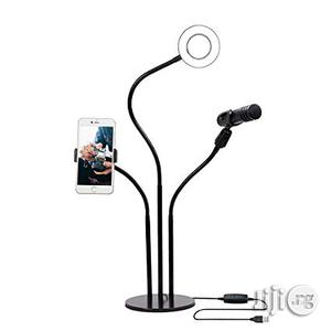 Ring Light With Mirco Phone Stand | Accessories & Supplies for Electronics for sale in Lagos State, Amuwo-Odofin